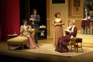 Sherlock Holmes And The Case Of The Jersey Lily at Park Square Theatre