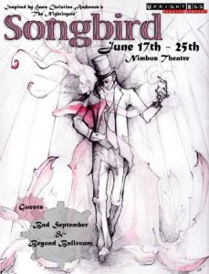 Songbird by Upright Egg Theatre Company at Nimbus Theater