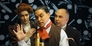 Steampunk Delusions at Open Eye Figure Theatre, produced by Hardcover Theater and English Scrimshaw Theatrical Novelties
