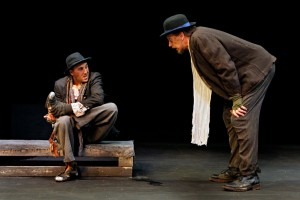 Nathan Keepers and Jim Lightscheidl in Waiting For Godot.  Photo by Michal Daniel.