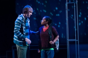 Tom Reed and Brittany Bradford in Next To Normal.  Photo by Rich Ryan.