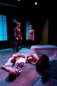 Kill Me Don't Go by the Workhaus Collective performing at the Playwrights Center