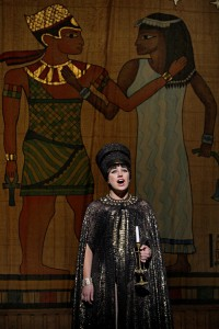 Cat Brindisi in Aida.  Photo by Michal Daniel.