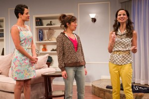 Grace Gealey, Sun Mee Chomet and Laurine Price in Elemeno Pea.  Photo by Rich Ryan.