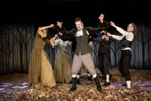 Ryan Lear and Company in The Legend Of Sleepy Hollow.  Photo by Dan Norman.
