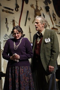 Cheryl Willis and Steve Hendrickson in Deathtrap.  Photo by Michal Daniel.