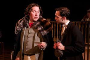 Gross Indecency: The Three Trials Of Oscar Wilde, by Walking Shadow Theatre Company performing at the Theatre Garage