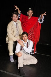 Lorca In A Green Dress, a co-production of Teatro del Pueblo and Pangea World Theater, performing at the Ritz