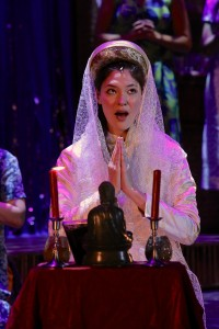 Manna Nichols in Miss Saigon.  Photo by Bob Compton Photography.