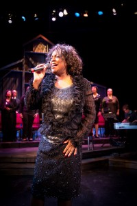 "Yolande Bruce in ""Black Nativity"""