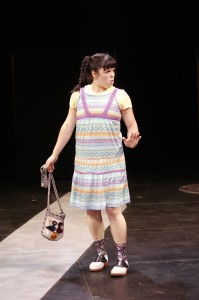 "Alejandra C. Tobar in ""The House on Mango Street."" Photo: Petronella J. Ytsma."