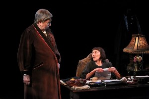 Claudia Wilkens and Barbara Kingsley In Gertrude Stein And A Companion. Photo by Michal Daniel.