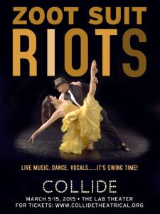 COLLIDETheatrical Dance Company presents Zoot Suit Riotsat the Lab Theater