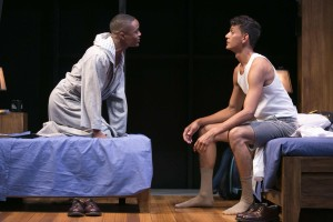 John-Michael Lyles and Ryan Colbert in Choir Boy. Photo by Heidi Bohnencamp.