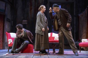David Darrow, Anita Reeves and Stephen Brennan in Juno And The Paycock. Photo by Joan Marcus.