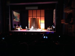 Ariadne Auf Naxos. The lousy photo is by John Olive.