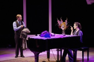 Murder for Two at Park Square Theatre's Andy Boss Thrust Stage