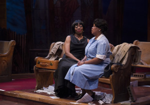 Regina Williams and Traci Allen Shannon in Nina Simone: Four Women. Photo by Petronella J Ytsma.
