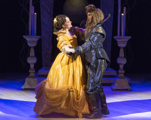 Ruthanne Heyward and Robert Berdahl in Beauty And The Beast. Photo by Heidi Bohenkamp.