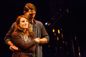 Anna Sundberg and Ron Menzel in Constellations. Photo by Dan Norman.