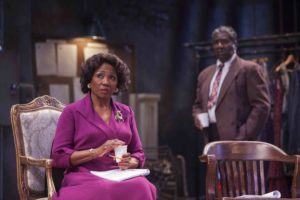 Margo Moorer and Cleavant Derricks in Trouble In Mind. Photo by Keri Pickett.