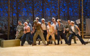 The ensemble in South Pacific. Photo by T. Charles Erickson.