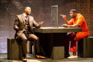 Darius Dotch and Ansa Akyea in Bars And Measures.