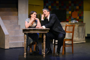 Jill Iverson and Bradley Greenwald in The Baker's Wife. Photo by Hilary Roberts.