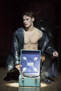 Randy Harrison in Cabaret. Photo by Joan Marcus.