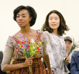Tatiana Williams and Audrey Park in Pericles. Photo by Paula Keller.