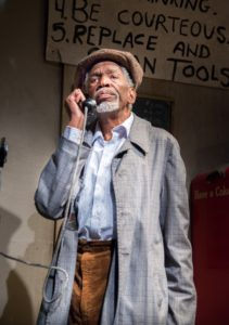 Abdul Salaam El Razzac in Jitney. Photo by Allen Weeks.