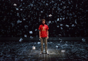Mark Langdon in The Curious Incident Of The Dog in the Nightime. Photo by Joan Marcus.