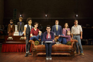Fun Home Ensemble. Photo by Joan Marcus.